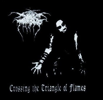 naszywka DARKTHRONE - CROSSING THE TRIANGLE OF FLAMES