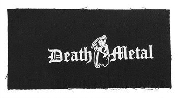 naszywka DEATH METAL