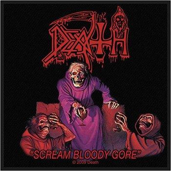 naszywka DEATH - SCREAM BLOODY GORE