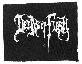 naszywka DEEDS OF FLESH - LOGO