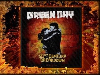 naszywka GREEN DAY - 21ST CENTURY BREAKDOWN