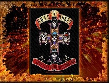 naszywka GUNS N' ROSES - APPETITE FOR DESTRUCTION