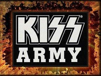 naszywka KISS - ARMY
