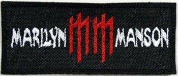 naszywka MARILYN MANSON - MM