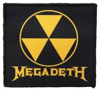 naszywka MEGADETH