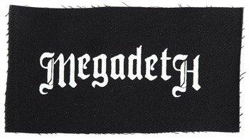 naszywka MEGADETH - LOGO