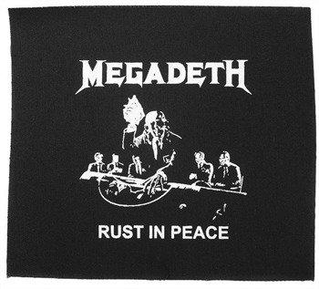 naszywka MEGADETH - RUST IN PEACE