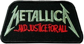 naszywka METALLICA - AND JUSTICE FOR ALL