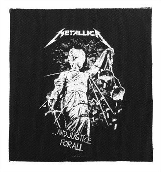 naszywka METALLICA - ...AND JUSTICE FOR ALL