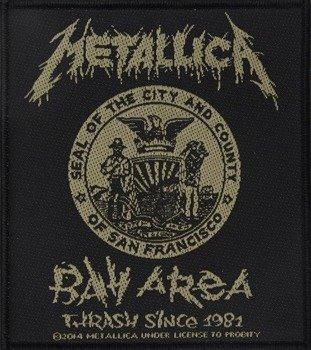naszywka METALLICA - BAY AREA THRASH SINCE 1981