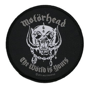 naszywka MOTORHEAD - THE WORLD IS YOURS