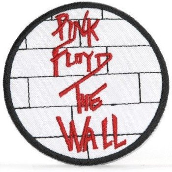 naszywka PINK FLOYD - THE WALL RED WHITE