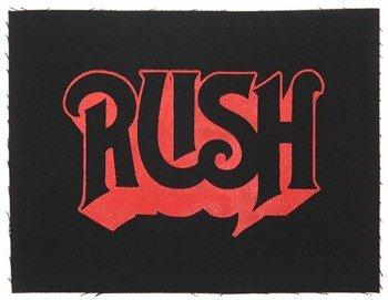 naszywka RUSH - LOGO EMPTY RED
