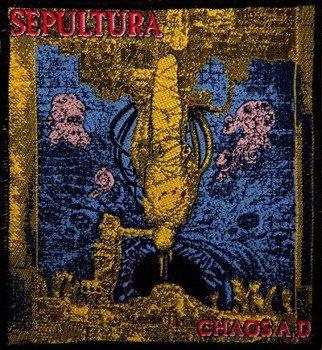 naszywka SEPULTURA - CHAOS A.D.