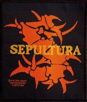 naszywka SEPULTURA - LOGO