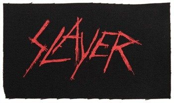 naszywka SLAYER - NEW LOGO RED