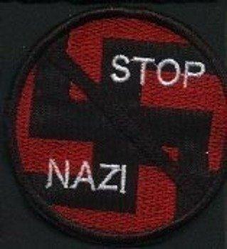 naszywka STOP NAZI