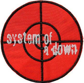 naszywka SYSTEM OF A DOWN - CELOWNIK