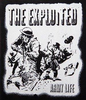 naszywka THE EXPLOITED - ARMY LIFE
