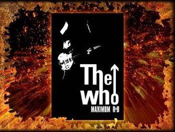 naszywka THE WHO - MAXIMUM R&B