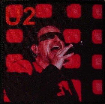 naszywka U2 - BONO