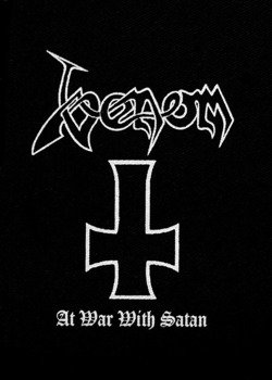 naszywka VENOM - AT WAR WITH SATAN