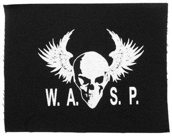 naszywka W.A.S.P. - SKULL