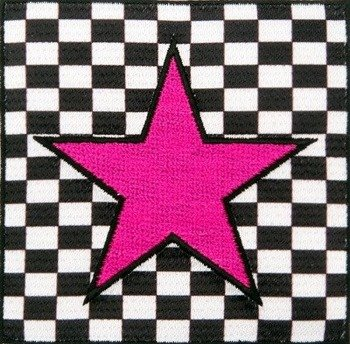 naszywka termiczna PINK STAR ON A BOARD (EP.431)