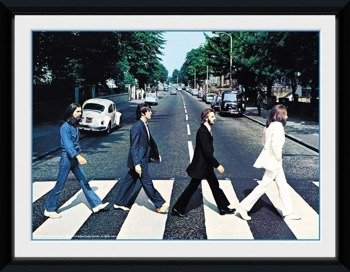obraz w ramce THE BEATLES - ABBEY ROAD