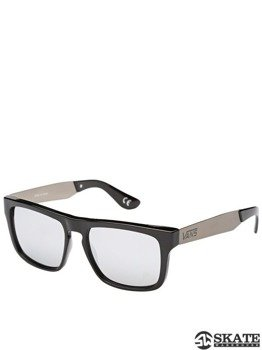 okulary VANS - SQUARED OFF BLACK/SILVER