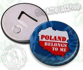 otwieracz do piwa POLAND - BELONGS TO ME