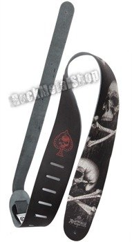pas do gitary PLANET WAVES - ALCHEMY GOTHIC LEATHER: BLACKBLOODS SKULL (25LAL01)