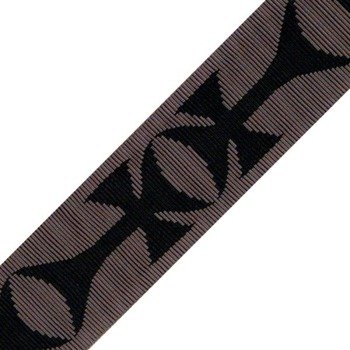 pasek do gitary PLANET WAVES - DARK SIDE CROSS (50F03)