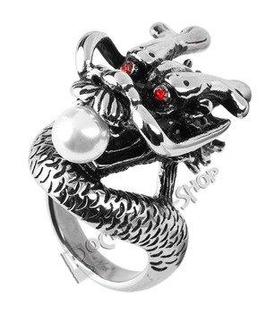 pierścień PEARL DRAGON