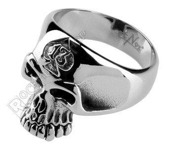 pierścień SKULL 13