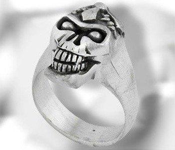 pierścień SKULL
