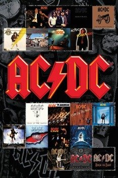plakat AC/DC - COVERS