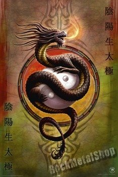 plakat ANNE STOKES - YIN YANG PROTECTOR