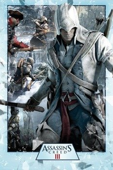 plakat ASSASSINS CREED III - COLLAGE
