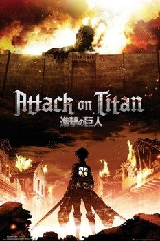 plakat ATTACK ON TITAN - KEY ART