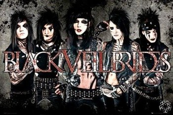 plakat BLACK VEIL BRIDES - LEATHER