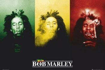 plakat BOB MARLEY -FLAG