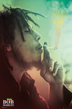 plakat BOB MARLEY - SMOKING LIGHTS