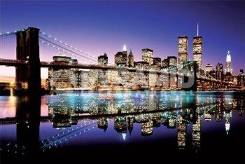 plakat BROOKLYN BRIDGE - COLOUR