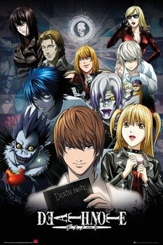 plakat DEATH NOTE - COLLAGE