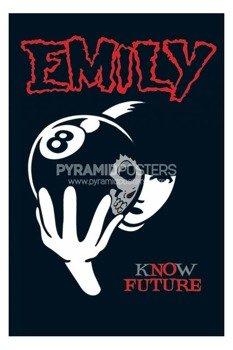 plakat EMILY THE STRANGE - 8 BALL