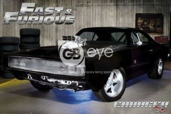 plakat FAST & FURIOUS 4 - CHARGER