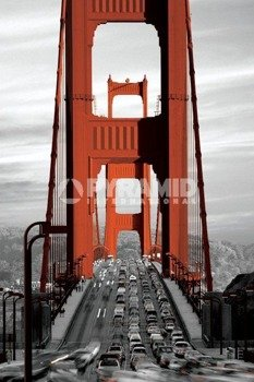 plakat GOLDEN GATE BRIDGE - SAN FRANCISCO