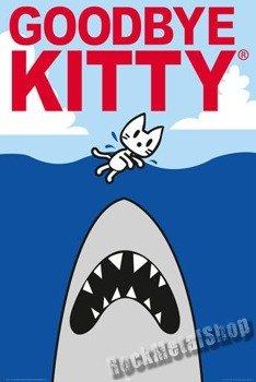 plakat GOODBYE KITTY - SHARK