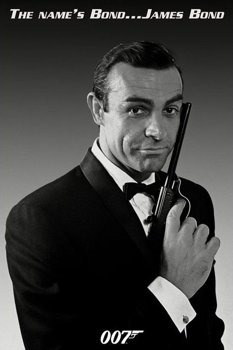 plakat JAMES BOND (THE NAME'S BOND)
